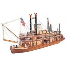 Artesania Latina King of The Mississippi Wooden Paddle Steamer 1/80 AL20505