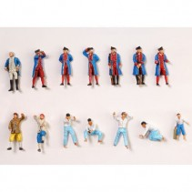 Artesania Latina Set of 14 Die Cast Figurines (Hermione la Fayette) AL22517F