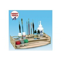 Artesania Latina Paint Brush and Accessory Stand AL27648-P