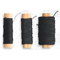 Artesania Latina Cotton Thread Black 0.15mm AL8811