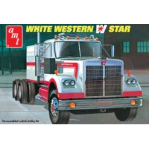 AMT White Western Star Semi Tractor 1/25 AMT724