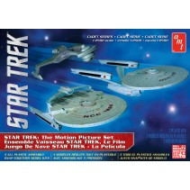 AMT Star Trek Cadet Series The Motion Picture - Three Ship Set 1/2500 AMT762L