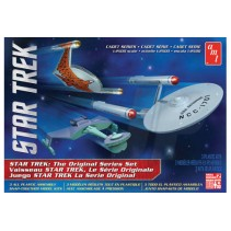 AMT Star Trek Cadet Series TOS Era Ship Set 1/2500 AMT763L