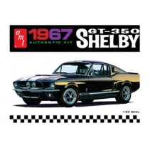 AMT 1967 Shelby GT350 Black  AMT834M 1/25