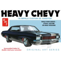 AMT 1970 Chevy Impala Heavy Chevy 1/25 - Original Art Series AMT895