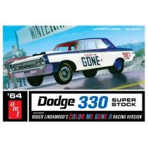AMT Color Me Gone 1964 Dodge 330 Superstock 1/25 AMT987