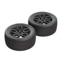 Arrma Exabyte NT Truggy Tire Set Pre-Glued AR550026