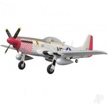 Arrow Hobby P-51 Mustang PNP Retracts 1100mm ARR004P