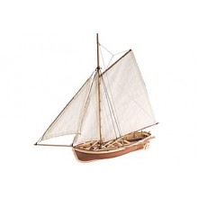 Artesania Latina Bounty's Jolly Boat Wooden Ship Model Kit  .. Display Only