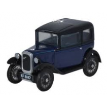 Austin Seven RN Saloon Light Royal 1/76 Oxford Diecast