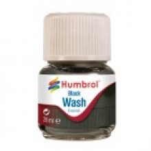 Humbrol Enamel Wash Black 28ml AV0201