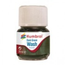 Humbrol Enamel Wash Dark Green 28ml