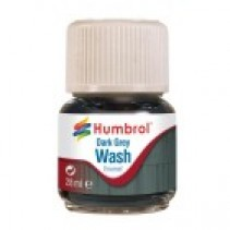 Humbrol Enamel Wash Dark Grey 28ml