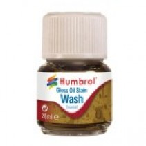 Humbrol Enamel Wash Gloss Oil Stain 28ml
