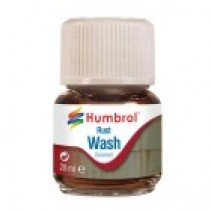 Humbrol Enamel Wash Rust 28ml