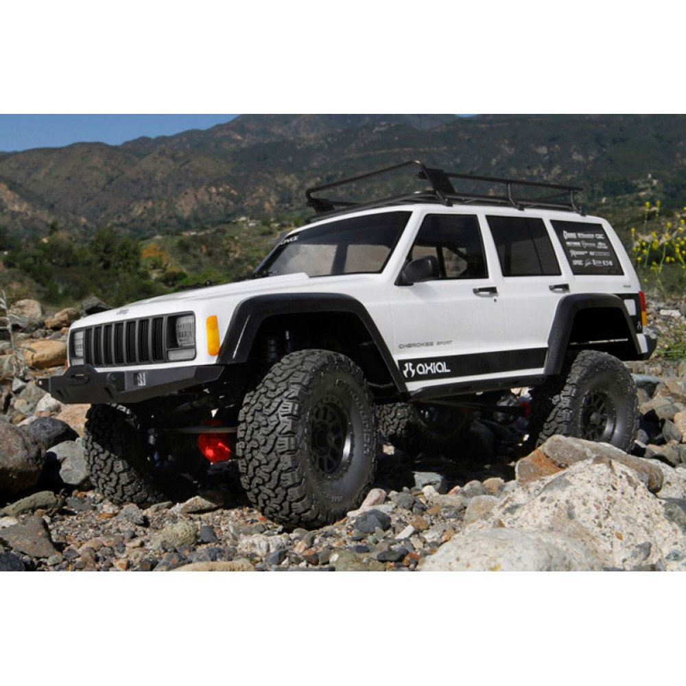 axial scx10 ii jeep cherokee 4wd kit rock crawler ax90046. Black Bedroom Furniture Sets. Home Design Ideas