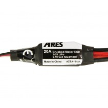 Ares 20-Amp Brushed Motor ESC with T-Connector (Gamma 370 V2) AZSA1610T