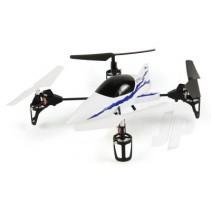 Ethos QX130 Ultra-Micro RTF Quadcopter, Blue (Mode 2, UK Plug)