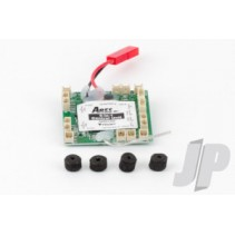5-in-1 Control Unit, Rx/ESCs/Mixer/3-A x is Gyro/3