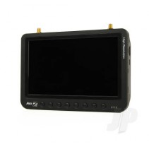 "Ares AZSZ1021 7"" HD Auto-Scan Monitor 32Ch 5.8GHz FREE Transmitter AZSZ1010"