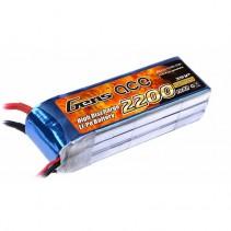 GENS ace 2200mAh 11.1V 25C 3S1P LiPo Battery B25C22003S1P