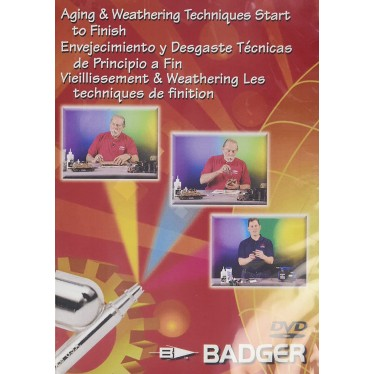 Badger Aging & Weathering Techniques DVD