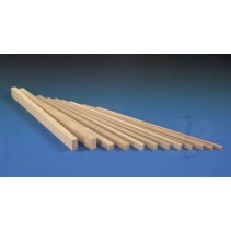 SLEC Beech Wood Bearers 1/4x1/4x12in W-EB1/10