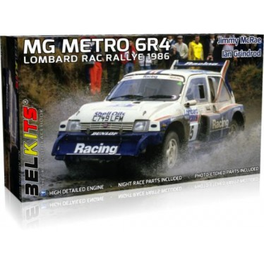 BELKITS 1/24 MG METRO 6R4 LOMBARD RAC HC-BEL016