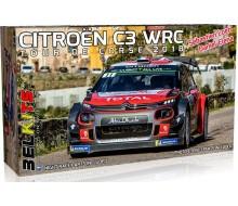 BELKITS CITROEN C3 WRC CORSICA 2018 1/24 BEL017
