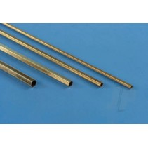 K&S 8274 3/16 Hexagonal Brass Tube 12in (1)