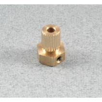 I-LA1021 Brass Couple - Plain Bore Insert 1/8""