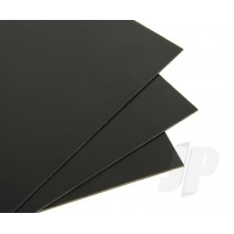 "40B 40/000 9""x12"" Building Card BLACK"
