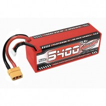 Team Corally Sport Racing 50C Lipo Battery 5400mAh 14.8V Stick 4S Hardwire XT90
