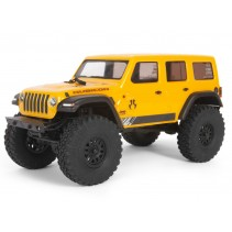 Axial SCX24 1/24 Jeep Wrangler JLU CRC RTR Yellow C-AXI00002T2