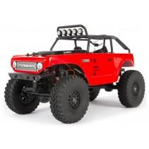 Axial SCX24 Deadbolt 1/24th Scale Elec 4WD - RTR, Red C-AXI90081T1