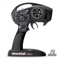Traxxas Rustler VXL Brushless TSM (TQi/8.4V/DC Chg) C-TRX37076-3 RED
