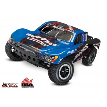 Traxxas Slash VXL Brushless 2WD OBA TSM C-TRX58076-24 BLUE