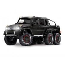 TRX-6 6x6 Mercedes G63 BLACK (TQi, LED Lights) (No Batt/Chg)C-TRX88096-4-BLK