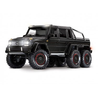 TRX-6 6x6 Mercedes G63 BLACK (TQi, LED Lights) (No Batt/Chg)C-TRX88096-4-BLK