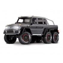 TRX-6 6x6 Mercedes G63 SILVER (TQi, LED Lights) (No Batt/Chg)C-TRX88096-4-SLVR