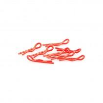 Core RC Small Body Clip 1/10 Fluorescent Red CR065