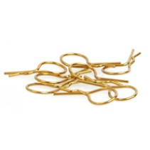Core RC CR072 Big Body Clip 1/10 Gold (8)