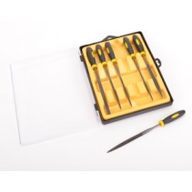 Schumacher Core-RC CR265 Needle Files in Case - 6pc