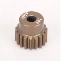 Core RC Pinion Gear 48DP 18T (7075 Hard) CR4818