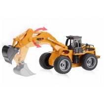 HuiNa Excavator w/diecast Bucket 2.4G 6-Channel RC CY1530