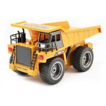 HuiNa 2.4G 6Ch RC Dump Truck w/diecast cab CY1540