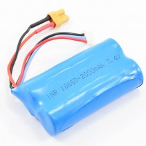 Huina 1580/1583 7.4V 2000 mAh Battery XT30 Connector CYP1103