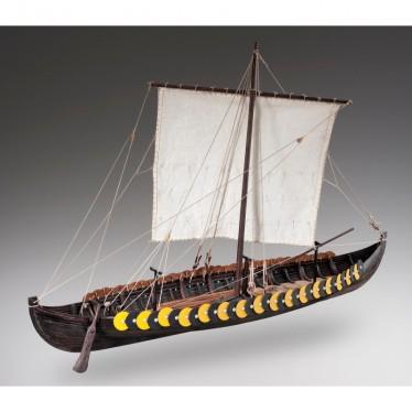Dusek Viking Gokstad Wooden Boat Kit 1:35 D006