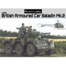 Dragon British Armoured Car Saladin Mk.2 D3554