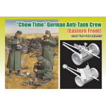 "Dragon D6997 ""Chow Time"" German Anti-Tank Crew [Eastern Front] 1/35 '39-'45 Seri"